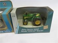 John Deere 630 and Fordson super major tractors