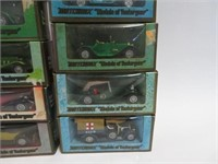 12 Matchbox collector cars