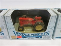 4 Vintage vehicles tractors