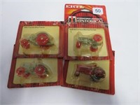 4 Ertrl toy tractors 1/64