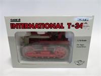 International T 340 dozer w/ box Erlt 1/16