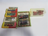 7 Die cast Canadian Tire toy cars 1/16