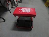 Big Red shop cart