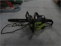Poulan p3816 gas chainsaw w/ extra chains
