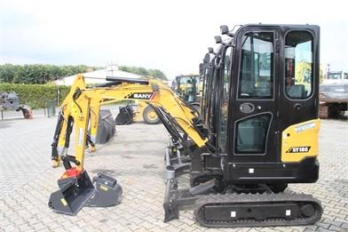 SANY Mini (Up To 12,000 Lbs) Excavators For Sale - 113