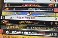 Assortment of DVDS and (3) CDs