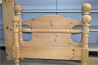 Wooden Head & Foot Boards with Side Rails