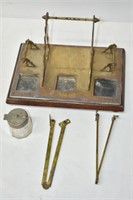 Vintage Print Stand with Accessories