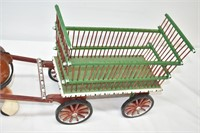 """30"""" Long Horse with Cart"""