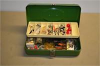 Tackle Box with Fishing Tackle