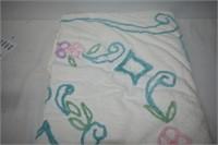 """Cotton Chenille Bedspread 88"""" x 82"""""""