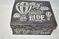 """Box """"Life is a Beautiful Ride"""" with Contents"""