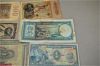 Grp, of Paper Currency - 25cent Canadian Bill,