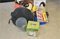 Grp, of Mason Jars, Blender, Assorted Items