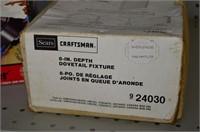 """Craftsman 8"""" Dovetail Jig and 3D Sander"""