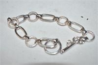 (925) Stamped Bracelet