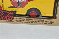 Coca-Cola 1949 White Delivery Truck Bank