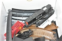 Tracks, Engine, Rail Car and Accessories