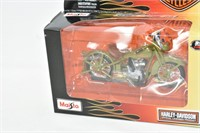 Harley-Davidson 1/18 Scale Motorcycle