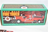 Texaco 1929 Mack Fire Truck Coin Bank