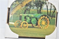 8 x 10 John Deere Tractor Framed Picture