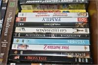 Box of DVD's