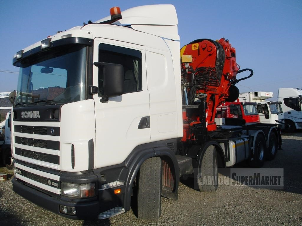 Scania R164L580 used 2002