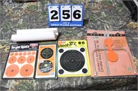 Lot of Assorted Rifle and Handgun Targets