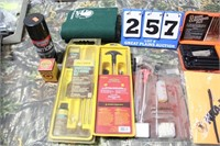 Lot of Assorted Cleaning Tools, Chemicals, Etc.