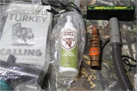 Lot of Assorted Game Calls and Hunting Items