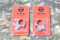 Pair of Ruger Super Redhawk Scope Rings