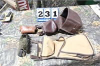 Lot of Skeet/Trap Shooting Shell Bags, Etc.