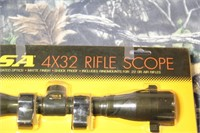 BSA 4X32 Rifle Scope New in Package