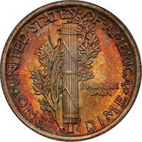 10C 1923 PCGS MS68+ FB CAC