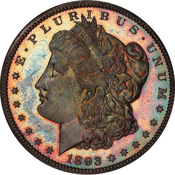 $1 1893-CC BRANCH MINT PROOF  PCGS PR65+ CAC | Legend Rare