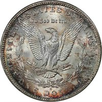 $1 1896-S PCGS MS65 CAC