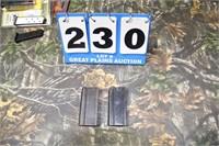 Lot of 2 .30 Caliber Carbine Magazines