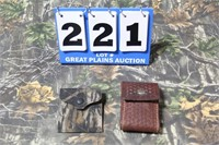 Lot of 2 Rifle Ammunition Carriers