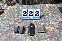 Lot of 3 Magazine/Cartridge Carriers
