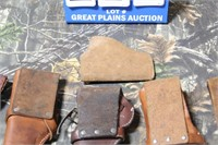 Lot of Leather Holsters