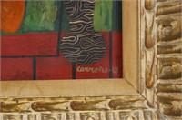 Mario Carreno (Cuban 1913-1999) Oil on Canvas