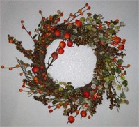 "20"" BERRY WREATH"