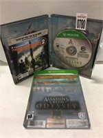 XBOX ONE ASSASSIN'S CREED ODYSSEY (IN SHOWCASE)