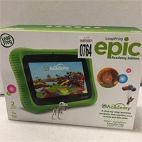LEAP FROG EPIC ACADEMY EDITION (IN SHOWCASE)