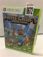 XBOX 360 MINECRAFT (IN SHOWCASE)