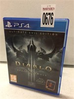 PS4 DIABLO ULTIMATE EVIL EDITION (IN SHOWCASE)