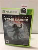 XBOX 360 RISE OF THE TOMB RAIDER (IN SHOWCASE)