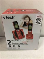 VTECH 2 HANDSET  CORDLESS PHONE SYSTEM
