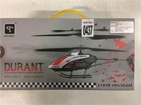 DURANT 3.5CH INFRARED REMOTE CONTROL HELICOPTER