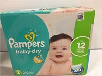 PAMPERS BABY DIAPER SIZE 2